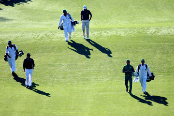 Rory McIlroy Jason Day The Masters - Round One