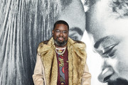 """Lil Rel Howery attends the world premiere of """"The Photograph"""" World at SVA Theater on February 11, 2020 in New York City."""