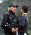 Greg Norman Ryo Ishikawa Photos Photo