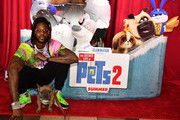 """Rapper 2 Chainz and Trappy S. Goyard attend """"The Secret Life of Pets 2"""" Special Screening hosted by 2 Chainz and Trappy S. Goyard at Regal Cinemas Atlantic Station on June 03, 2019 in Atlanta, Georgia."""
