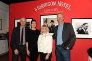 Chris Flannery, Amanda Sinatra, singer Nancy Sinatra and Morrison Hotel owner Peter Blachley attend The Sinatra Experience at Morrison Hotel Gallery on March 5, 2015 in New York City.
