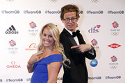 Chemmy Alcott and Mark Dolan attends The Team GB Ball 2018 held at The Royal Horticultural Halls on September 13, 2018 in London, England.