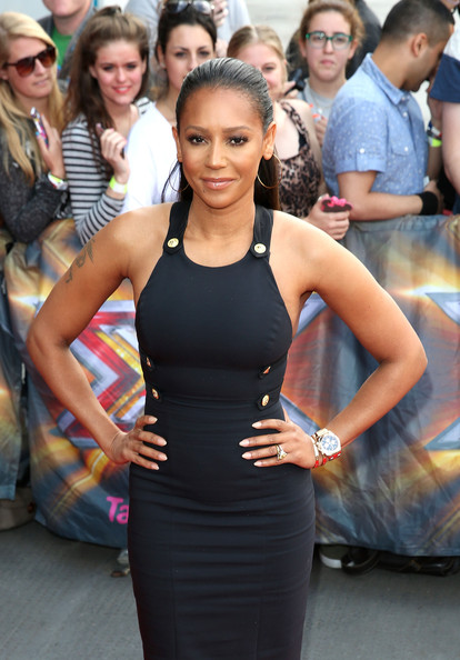 melanie brown melanie brown arrives for the london auditions of x