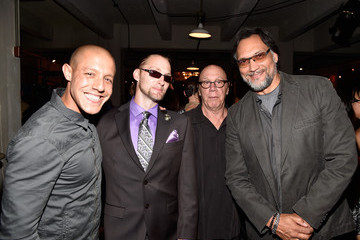 Theo Rossi Dayton Callie 'Sons of Anarchy' Cast Hosts a Boot Bash