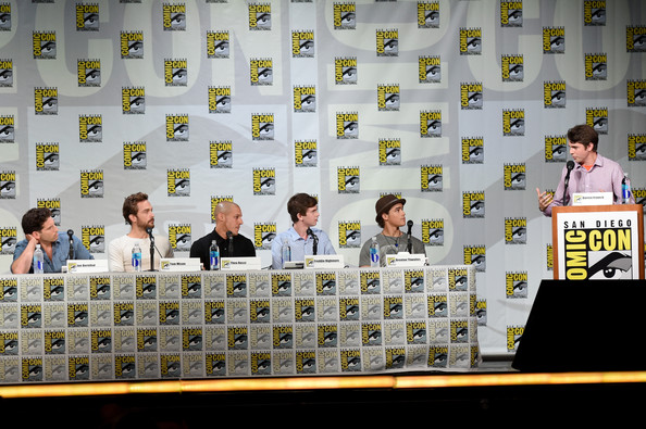 Brave New Warriors Panel at Comic-Con