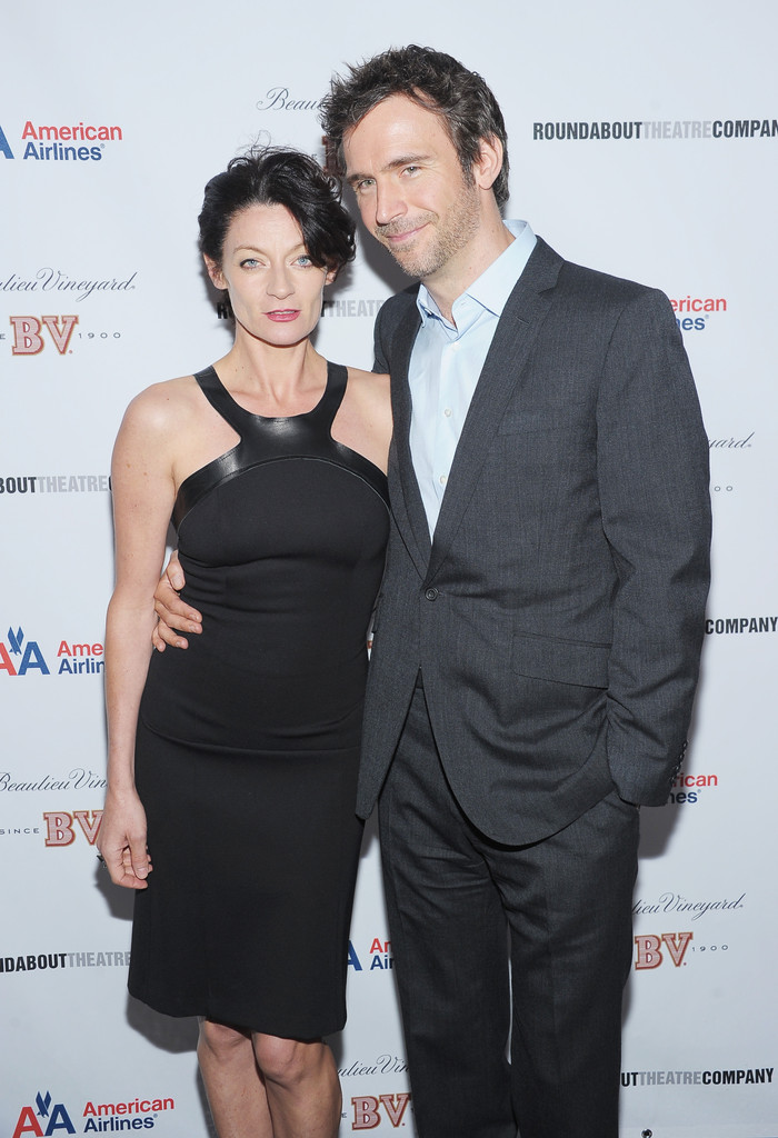 Jack Davenport with cool, beautiful, friendly, Wife Michelle Gomez