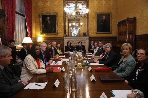 Theresa May Discusses Sexual Abuse Claims With Westminster Party Leaders