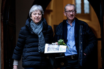 Theresa May Philip May European Best Pictures Of The Day - March 31, 2019