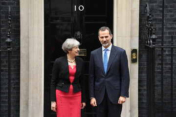 Theresa May State Visit of the King and Queen of Spain - Day 2