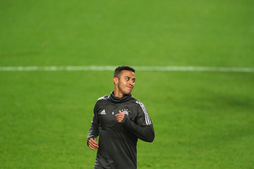 Thiago Bayern Muenchen Training and Press Conference