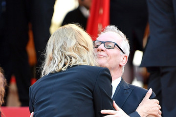 Thierry Fremaux 'Based on a True Story' Red Carpet Arrivals - The 70th Annual Cannes Film Festival