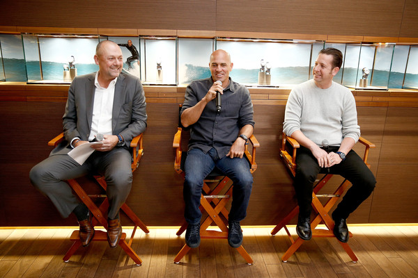 Kelly Slater Unveils The All-New Breitling Superocean Heritage II Chronograph 44 Outerknown At Breitling Boutique New York