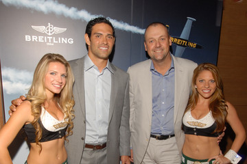 Thierry Prissert Breitling And Mark Sanchez Host Monday Night Football Kick-Off Event