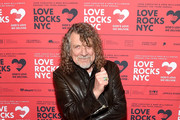 Robert Plant attends the Third Annual Love Rocks NYC Benefit Concert for God's Love We Deliver on March 07, 2019 in New York City.