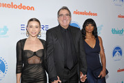 (L-R) Olesya Rulin, Kenny Ortega and Monique Coleman attend The Thirst Project's 9th Annual Thirst Gala at The Beverly Hills Hotel on April 21, 2018 in Beverly Hills, California.
