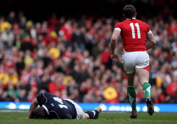 Thom Evans - Wales v Scotland - RBS Six Nations