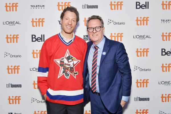 2019 Toronto International Film Festival - 'Red Penguins' Photo Call [event,thom powers,gabe polsky,photo call,l-r,scotiabank theatre,toronto,canada,red penguins,toronto international film festival,photo call]
