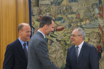 Thomas Enders King Felipe VI Receives Thomas Enders