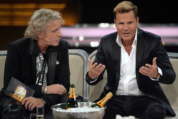 '30 Jahre RTL' Anniversary Show in Germany [anniversary show,show,jubilaeumsshow,event,conversation,suit,presenter,music,thomas gottschalk,december 19,taping,germany,rtl]