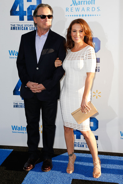 Photo of Alyssa Milano & her Father  Tom Milano