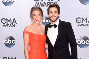 Thomas Rhett Lauren Gregory Arrivals at the 48th Annual CMA Awards
