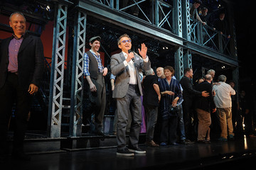 Thomas Schumacher 'Newsies' Final Broadway Curtain Call