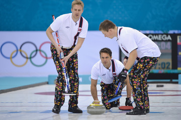 Thomas Ulsrud Winter Olympics: Curling