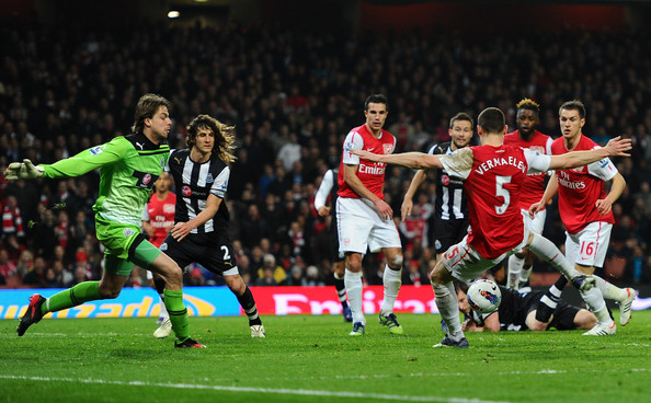Thomas Vermaelen - Arsenal v Newcastle United - Premier League