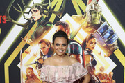 Miranda Tapsell attends the Thor: Ragnarok Sydney Screening Event on October 15, 2017 in Sydney, Australia.