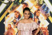 Actor Miranda Tapsell attends the THOR: RAGNAROK Sydney special event screening at Hoyts Entertainment Quarter, Sydney Australia on October 15, 2017 in Sydney, Australia.