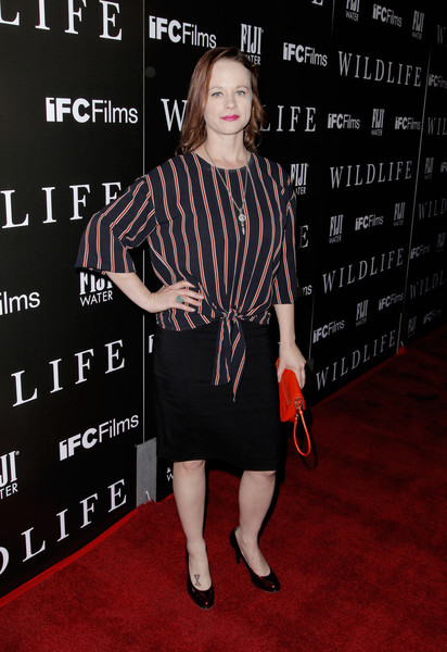 Los Angeles Premiere For IFC Films' 'Wildlife' - Red Carpet
