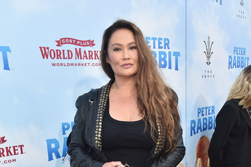 Tia Carrere Premiere of Columbia Pictures' 'Peter Rabbit' - Red Carpet