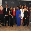 Tia Maggini The Cast and Producers From Lifetime's Film 'Faith Under Fire: The Antoinette Tuff Story' Attend the Red Carpet Screening