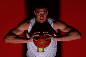Tiago Splitter Atlanta Hawks Media Day