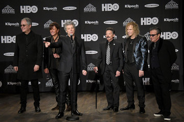 Tico Torres 33rd Annual Rock & Roll Hall Of Fame Induction Ceremony - Press Room