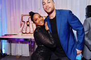 Tiffany Haddish and Giancarlo Stanton Photos Photo
