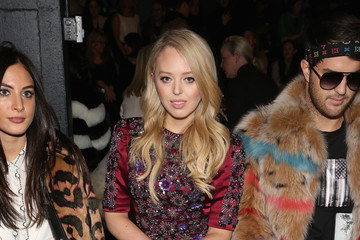 Tiffany Trump Dennis Basso - Front Row - February 2017 - New York Fashion Week: The Shows