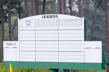 Tiger Woods Mark O'Meara The Masters - Preview Day 2
