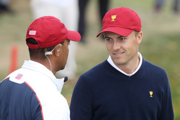 Tiger Woods The Presidents Cup - Round Three