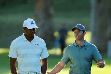 Tiger Woods Rory McIlroy Genesis Open - Round Two