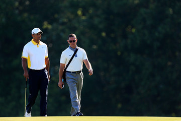 Tiger Woods Sean Foley The Players Championship: Preview Day 3