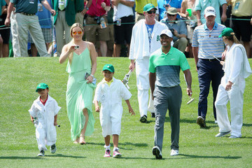 Tiger Woods Steve Stricker The Masters - Preview Day 3
