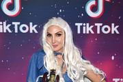 Heather McDonald attends TikTok Halloween Party on October 31, 2019 in Los Angeles, California