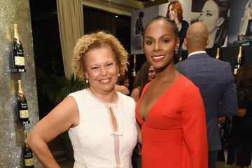 Tika Sumpter ELLE's 25th Annual Women In Hollywood Celebration Presented By L'Oreal Paris, Hearts On Fire And CALVIN KLEIN - Moët & Chandon