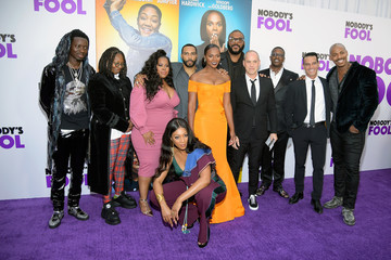 Tika Sumpter Amber Riley Paramount Pictures, Paramount Players, Tyler Perry Studios and BET Films Present the World Premiere of 'Nobody's Fool'