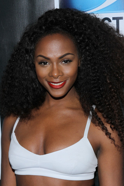 Tika Sumpter Actress Tika Sumpter attends the DirecTV Super Saturday ...