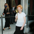 Tilda Swinton Celebrity Sightings During The 77th Venice Film Festival - Day 1