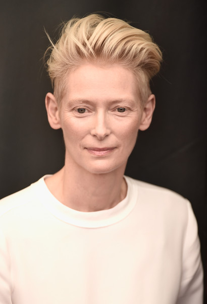 'A Bigger Splash' Photocall - 72nd Venice Film Festival [hair,face,eyebrow,hairstyle,blond,chin,forehead,lip,head,skin,tilda swinton,photocall,venice,italy,a bigger splash,venice film festival,photocall - 72nd]
