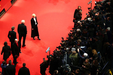 Tilda Swinton Bill Murray Opening Ceremony & 'Isle of Dogs' Premiere Red Carpet - 68th Berlinale International Film Festival