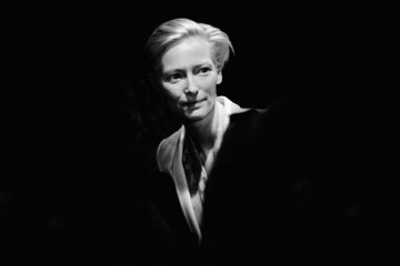Tilda Swinton Alternative View of Fashion Week